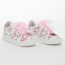 Sneakers rose e lilla'
